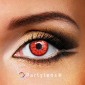 Partylenzen - Vampier ogen rood - jaarlenzen inclusief lenzendoosje - Halloween lenzen Partylens®