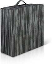 Bed4less Inklapbaar vouwmatras  - opvouwbare matras 65x190cm antraciet