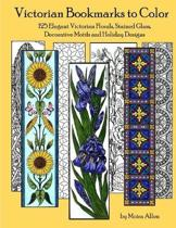 Victorian Bookmarks to Color