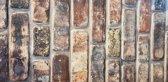 5 panelen (2.5 m²) 100 x 50 cm. 3D wandpanelen, wandbekleding, piepschuim steenstrips, muurbekleding, brickstone verharde tempex, gevel bekleding, isolatie panelen, decoratie wandpanelen code 1806