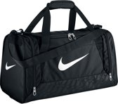 Nike Brasilia 6 Duffel - Sporttas - Small - Zwart