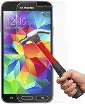 Tempered Glass Screenprotector geschikt voor Samsung Galaxy S5