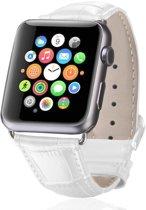 watchbands-shop.nl bandje - Apple Watch Series 1/2/3/4 (42&44mm) - Wit