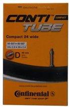 Continental Compact 24 Wide Dunlop Ventiel 47/57-507 - Binnenband - Blauw