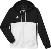 adidas T16 Team Hoodie Zwart/Wit Youth 116