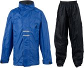 Nijdam Regenpak kinder - Regencover - Blauw donker