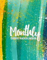 Monthly Expense Tracker Log Book