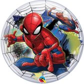 Qualatex - Folieballon - Bubble - Spiderman - Zonder vulling - ballon - 56cm