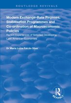 Modern Exchange-rate Regimes, Stabilisation Programmes and Co-ordination of Macroeconomic Policies