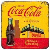 Onderzetters Drink Coca Cola in bottles Set 5 stuks