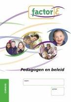 Omslag van 'Factor-E Pedagogen en beleid Cursus'