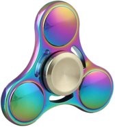 Fidget Spinner Multi color Tri Spinner