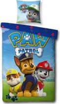 Paw Patrol Patch - dekbedovertrek set - Eenpersoons 140 x 200 cm - Multi