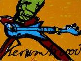Herman Brood Schilderij Zeefdruk 'De Gitarist'
