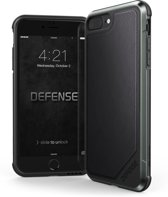 X-Doria Defense Lux cover - zwart leder - voor iPhone 7 Plus /8 Plus
