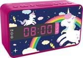 Bigben Wekkerradio Eenhoorn/Unicorn - 3 Wisselbare Panelen