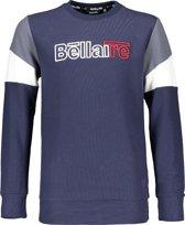Bellaire Jongens T shirt lange mouw - donker blauw - Maat 122/128