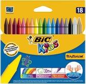 BIC Kids Plastidecor Kleurkrijt, 18st.