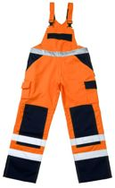 MASCOT veiligheidsbroek Barras, oranje/marine, maat 54