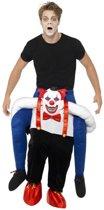 Gedragen door Horror Clown Volwassenen