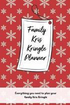 Family Kris Kringle Planner
