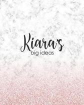 Kiara's Big Ideas: Personalized Notebook - 8x10 Lined Women's Journal
