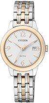 Citizen EW2234-55A  Horloge - Staal - Zilverkleurig - Ø 27.5 mm