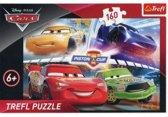 Disney Cars 3, 160 stukjes Puzzel