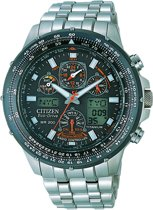 Citizen Promaster Super Skyhawk Titan - Horloge - Titanium - 48 mm - Zilverkleurig / Zwart - Solar uurwerk