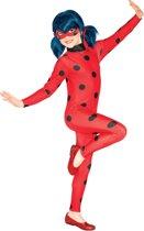 Ladybug™ kostuum voor meisjes - Verkleedkleding - Maat 116/128