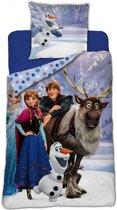 Disney Frozen Olaf & Sven - Dekbedovertrek - Eenpersoons - 140 x 200 cm - Multi