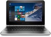 HP Pavilion x360 11-k100nd - Hybride Laptop Tablet - Zilver