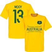 Australië Mooy Team T-Shirt - Geel - XL