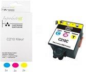 Improducts® Inkt cartridge - Alternatief voor Samsung C210 kleur