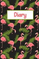 Pink Flamingo Guided Diary: 6x9 Guided Journal To Write In