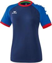 Erima Zenari 3.0 Dames Shirt - Voetbalshirts  - blauw donker - 36