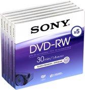 Sony Mini DVD-RW 30 min. (5-pack)