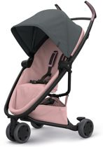 Quinny Zapp Flex Buggy - Graphite on Blush