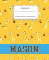 Composition Book Mason