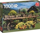 Alpenbloemen 1000 stukjes