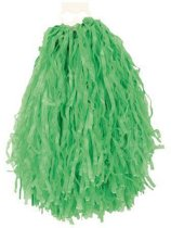 Voordelige cheerball groen 28 cm
