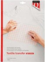 Transferpapier voor textiel - 6 vellen - lichte kleding