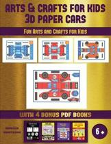 Easy Projects for Kids (Arts and Crafts for kids - 3D Paper Cars)