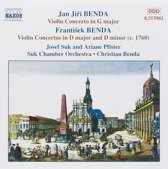 Jan Jiri and Frantisek Benda: Violin Concertos Vol 1