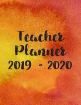 Teacher Planner 2019 - 2020