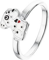 The Kids Jewelry Collection Ring Hond - Zilver