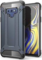 Samsung Galaxy Note 9 Hybride Hoesje Blauw
