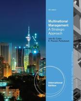 Multinational Management, International Edition