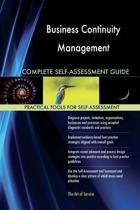 Business Continuity Management Complete Self-Assessment Guide