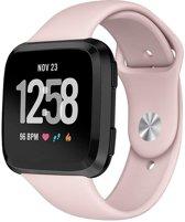 iCall - Fitbit Versa Bandje - Siliconen Bandje voor Fitbit Versa - Roze